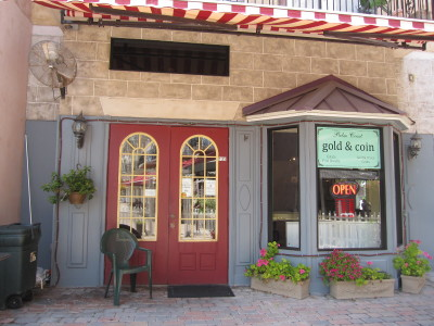Palm Coast Gold & Coin Shop at European Village
