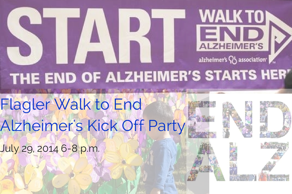 Flagler Walk to End Alzheimer's Kick Off Party