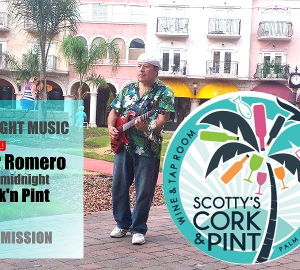 Late Night with Cesar Romero | Cork & Pint