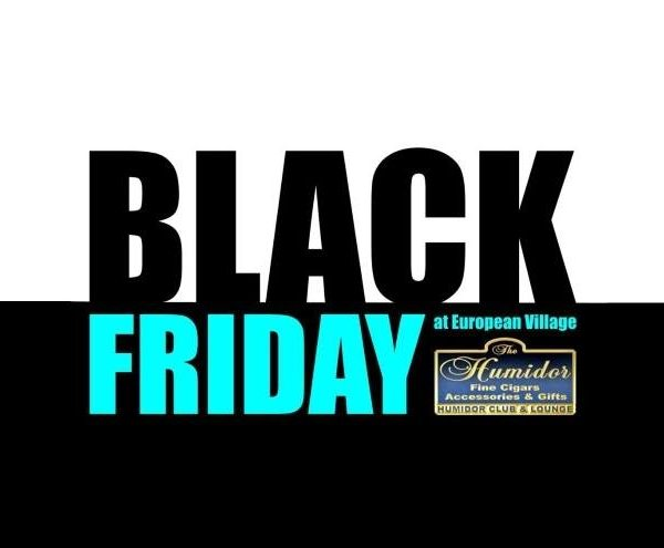 Black Friday Sale @ The Humidor