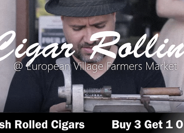 Cigar Roller in Palm Coast | The Humidor Cigar Bar & Lounge