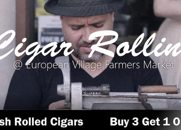 Cigar Roller in Palm Coast | The Humidor Cigar Bar & Lounge