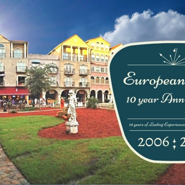 European Village 10 Year Anniversary