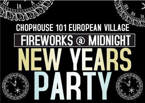 New Year's Eve at Chophouse 101!