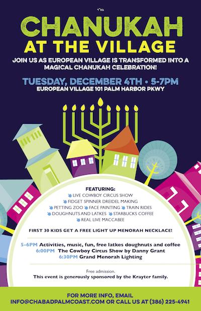 Chanukah at European Village