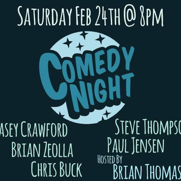 Moonrise Brewing Comedy Night