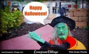 Halloween, European Village