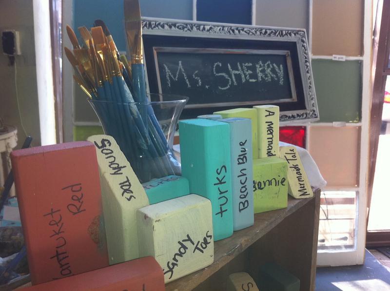 Refunk Your Junk Workshop at Sherry's Art Studio