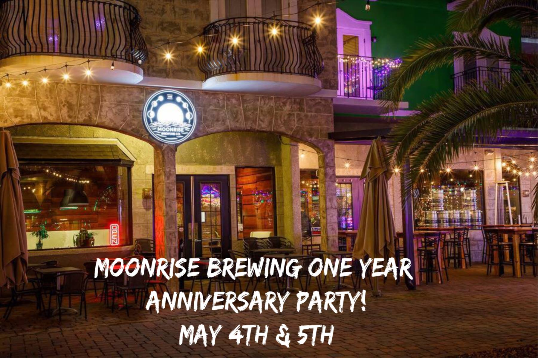 Moonrise Brewing Company 1-Year Anniversary